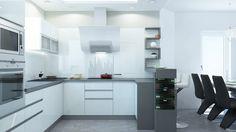 moderna kuchyna s obyvackou - Hľadať Googlom