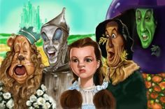 Wizard Of Oz Caricatures | The Wizard of Oz