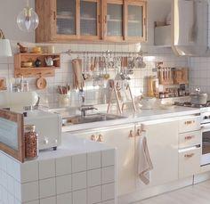 29 Most Beautiful Kitchen Decorating Ideas 2020 : Page 9 of 29 : Creative Vision Design Home Decor Kitchen, Kitchen Interior, Home Kitchens, Kitchen Modern, Aesthetic Room Decor, Apartment Interior, Interior Livingroom, Dream Rooms, Beautiful Kitchens