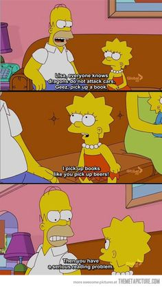 The Simpsons lol