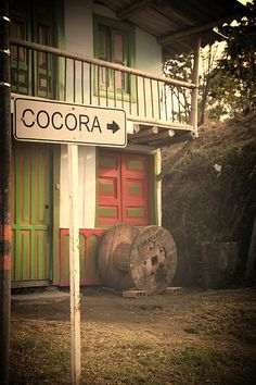 Road to Cocora Valley