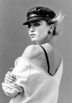 Madonna by Steven Meisel. Back when she was interesting.