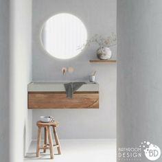 Let us help you create your dream bathroom, from custom floorplans to bathroom furniture visualization. Wc Bathroom, Diy Bathroom Remodel, Bathroom Furniture, Wooden Bathroom, Wooden Magazine Rack, Concrete Sink, Fiberglass Shower, Shower Curtain Rods, Wood Vanity