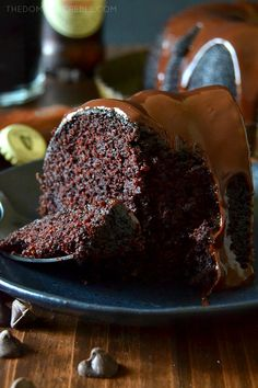 Chocolate Guinness Stout Cake with Chocolate Ganache