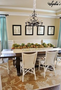 Grande Claire Chandelier by Ballard Designs  I  via @Kristen - Sophia's Decor