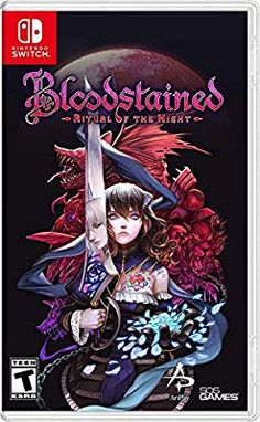 Bloodstained Ritual Of The Night XBOX One Historic England Gothic Horror Game Steam Pc, Crash Bandicoot, Gothic Horror, Red Dead Redemption, Final Fantasy Xv, Grand Theft Auto, Gta 5, Call Of Duty, Resident Evil