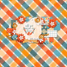 Life Stories: October by Sugary Fancy Happy NSD 2015 Template by Two Tiny Turtles