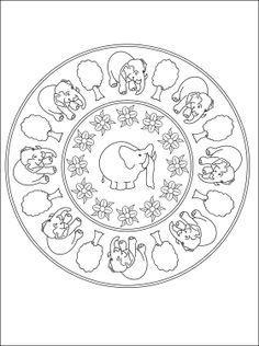 Spiritual Mandalas to color - Bing Images Mandala Coloring, Colouring Pages, Coloring Pages For Kids, Mandala Printable, To Color, Decorative Plates, Spirituality, Sewing, Bing Images