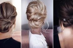 Wedding Trends-Top 10 Wedding Colors Ideas for 2019 - EmmaLovesWeddings Wedding Hair Front, Long Hair Wedding Styles, Wedding Hair And Makeup, Wedding Updo, Bridal Hair, Top Hairstyles, Formal Hairstyles, Bride Hairstyles, Hair Upstyles