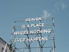 if i'm losing a piece of me, maybe i don't want heaven