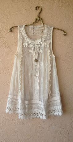 size 4 gypsy lace tunic: