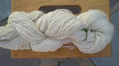 Perfectly Off White Handspun