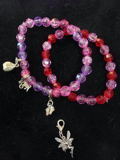 Stretch Charm Bracelets by LFDSIStore on Etsy