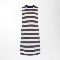 Blockstreifen-Kleid