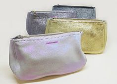 Just in to Nomad! Shimmery fatties   - beautiful, easy, catch-all, perfect for any lady who's on-the-go! #traceytanner #nomadcambridge #madeinbrooklyn #handmade #leather #pouch www.nomadcambridge.com