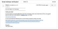 Email Address Verification:--Melissa Data offers Global Email Address Verification software for instant Validation of International Email Addresses including correction and address standardization.