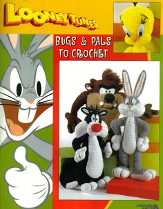 Amigurumi Looney Tunes ~ I have this book! Have only made the Bugs Bunny. Keep meaning to do Taz but can't find my round TUIT button. ;)