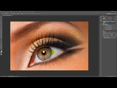 Cambia el color de los ojos en Photoshop, HD | Tutorial en Español - YouTube