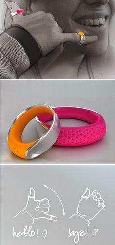 Para a comunicação à distância de forma simples, os anéis wireless que fazem ligações. Wearable tech ou tecnologia vestível.
