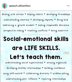 Understanding Emotions, Perspective Taking, Social Skills Activities, Relationship Building, Dealing With Stress, Assertiveness, Self Control, Confidence Building, Healthy Relationships