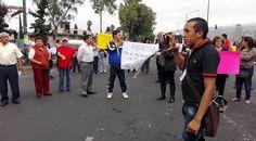 Protestas del Pueblo de Tláhuac en contra del Incinerador de basura
