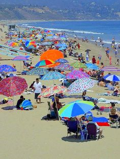 Vilebrequin Beach Umbrellas Santa Monica Ca