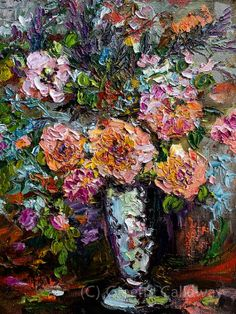 #Heirloom #Roses Still life #Fine Art  Modern by GinetteFineArt, $1200.00