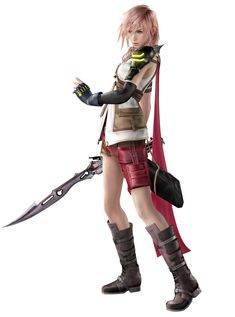 Lightning from Dissidia: Final Fantasy (2015)