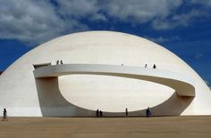 The Oscar Niemeyer foundation building  | http://www.yellowtrace.com.au/brazilian-architect-oscar-niemeyer/