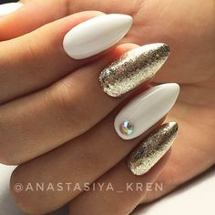 Fabulous White Nails Designs Worth Stealing ★ See more: http://glaminati.com/white-nails-designs/