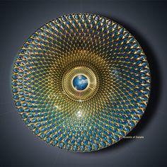 Pavoreal Glass Bowl