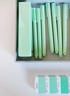 Nubby Twiglet | Poppin Office Supplies In Mint #MINT