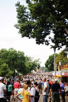 For those of you who don't know, Minnesota has basically the best State Fair ever. It's amazing! And they have everything on a stick.