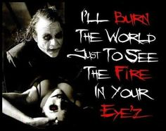Why so serious....