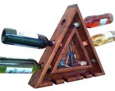 Wine Rack Wall Mounted Wine Rack Wood Wine Rack by AdliteCreations
