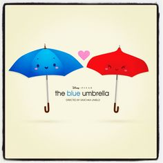 The Blue Umbrella. Cutest short film by Pixar. Disney Pixar, Disney Magic, Walt Disney, Disney Nerd, Disney And Dreamworks, Disney Love, Disney Bound, Disney Style, Monsters Inc