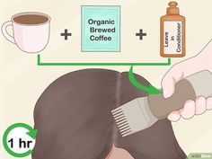 Dye Your Hair With Tea, Coffee, or Spices 3 Ways to Dye Your Hair With Tea, Coffee, or Spices – wikiHow – Farbige Haare Dyed Natural Hair, Natural Hair Care, Natural Hair Styles, Diy Hair Dye, Dye My Hair, Diy Haarfärbemittel, Professional Hair Dye, Coffee Hair Dye, Grey Hair Remedies