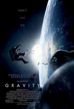 """Gravity"" de Alfonso Cuarón, avec Sandra Bullock et George Clooney (10/2013) <3<3<3<3<3"