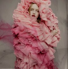 When I get sad, I just want to surround myself in a tornado of pink ruffles...