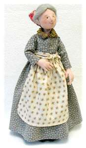 "Tasha Tudor doll pattern by Leslie Molen ""Learn Needle sculpting with an…"