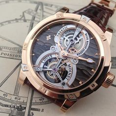Stunning @louismoinet Vertalor. Only 1 piece made! by w.watches