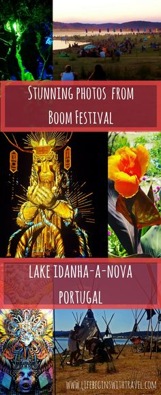 A series of stunning photos from Boom Festival - a psychedelic music and arts festival in Portugal. Travel photography and summer festival fun!