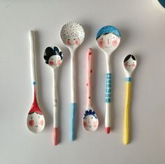 So Cute! Ceramic spoons                                                                                                                                                                                 More