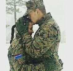 Gorgeous interracial military couple #love #wmbw #bwwm #swirl