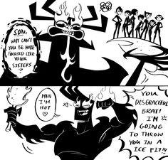 See more 'Samurai Jack' images on Know Your Meme! Ashi Samurai Jack, Samurai Jack Aku, Samurai Bravo, Jonny Bravo, Cartoon Network Tv, Cartoon As Anime, Cartoon Crossovers, Cartoon Characters, Destin