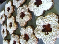Melt In Your Mouth Linzer Cookies by UniquelyAwesome on Etsy, $20.25 New pics to devour!
