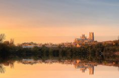 Ely Cathedral at Sunrise.