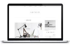 Responsive WP Theme - Serein by Light Morango on Creative Market