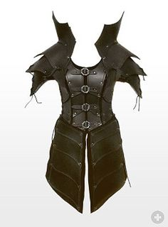 Elf Leather Armour black from maskworld.com