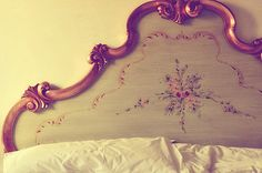 pensione guerrato. minus the flower details. bedroom or guest room